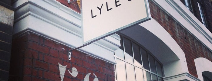Lyle's is one of London.