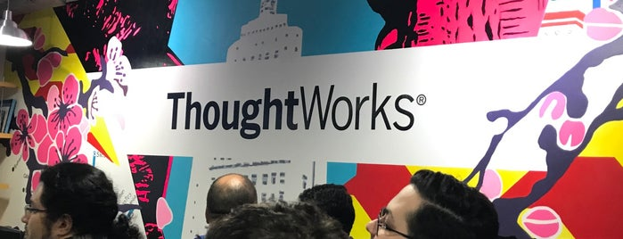 ThoughtWorks is one of Orte, die Fabricio gefallen.