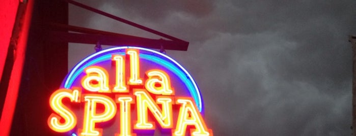 Alla Spina is one of Philly.