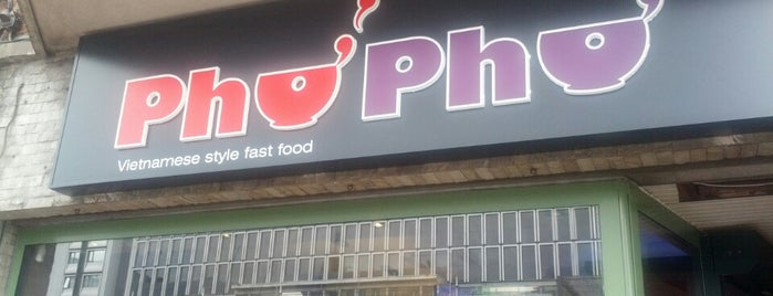 PhoPho is one of Lunch in Brussels.