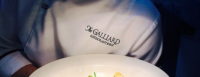The Galliard is one of Istanbul Aksam Yemek.