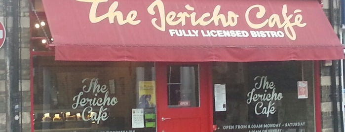 Jericho Café is one of Oxford Highlights.