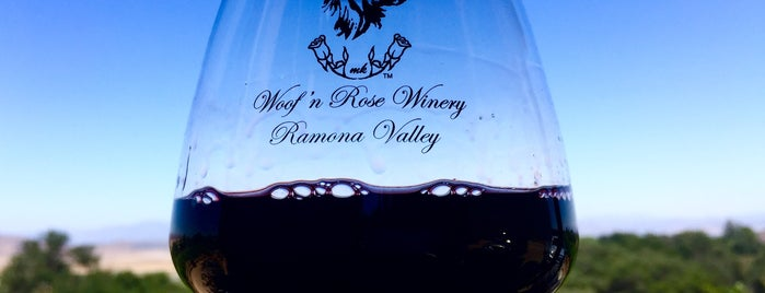 Woof N Rose Winery Ramona is one of Aliciaさんのお気に入りスポット.