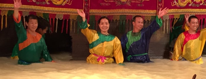 Vietnamese Water Puppet Show is one of Southeast Asia Travel.