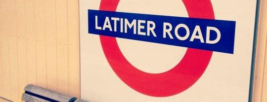 Latimer Road London Underground Station is one of Underground Stations in London.