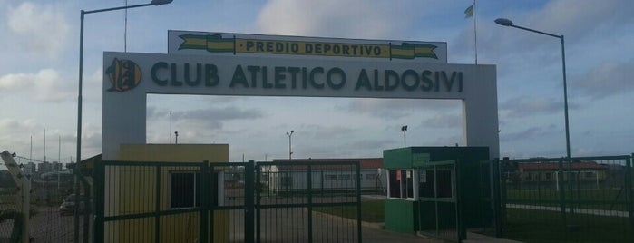 Club Atlético Aldosivi is one of Clubes de Primera División.