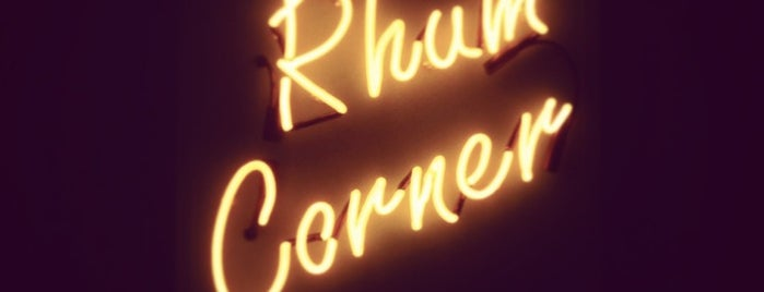 Rhum Corner is one of uwishunu toronto.