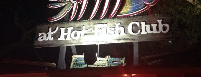 Hot Fish Club is one of Lieux sauvegardés par Lizzie.