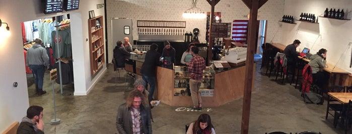 Puritan Coffee & Beer is one of Stephen'in Beğendiği Mekanlar.