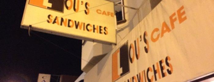 Lou's Cafe is one of Lugares guardados de Drew.