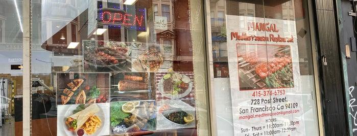 Mangal Mediterranean Restaurant is one of US: SF.
