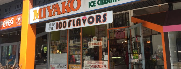 Miyako Old Fashion Ice Cream Shop is one of SF Todos.