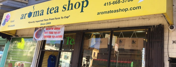 Aroma Tea Shop 茗茶轩 is one of Best of SF.
