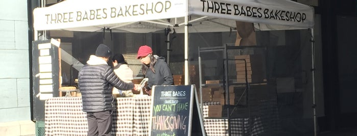 Three Babes Bakeshop is one of National Pie Quest.