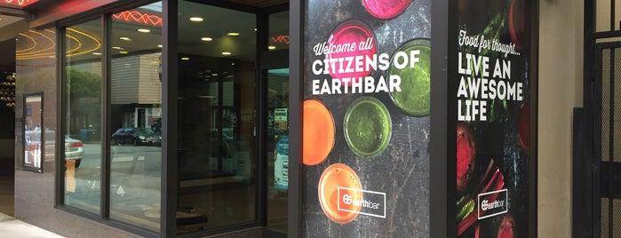 earthbar is one of Best vegans restaurants in San Francisco.