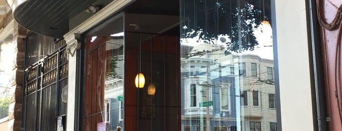 Alamo Square Cafe is one of Tempat yang Disukai Adriana.