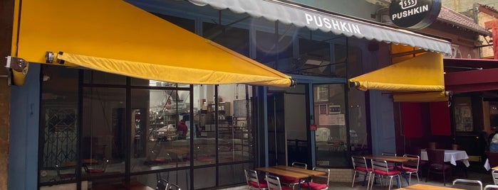 Pushkin is one of Cafes/Restaurants SF Done.