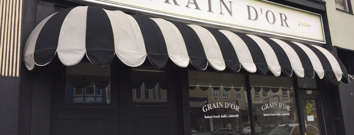 Grain d'Or is one of bakery.