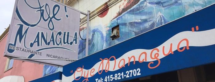 oye! managua is one of สถานที่ที่บันทึกไว้ของ Sean.