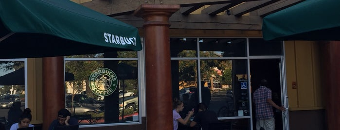 Starbucks is one of G-Town.
