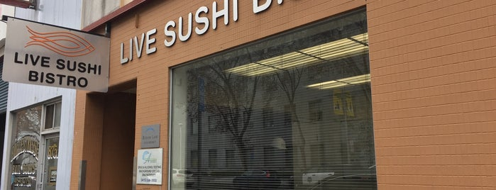 Live Sushi Bistro is one of Sushi SF.
