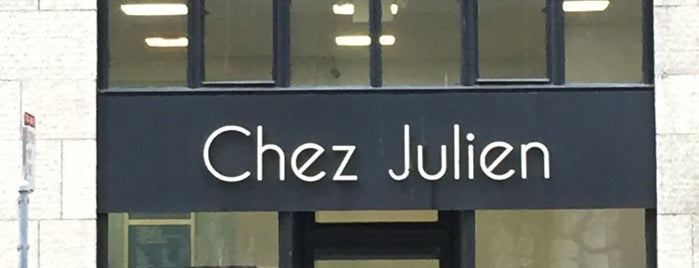 Chez Julien is one of Lieux qui ont plu à Ben.
