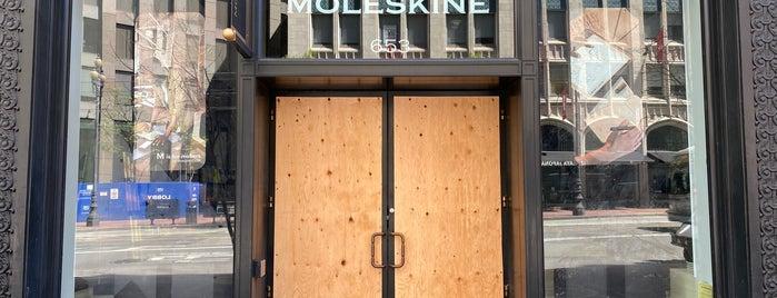 Moleskine is one of San Francisco.