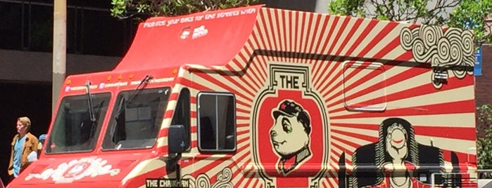 The Chairman Truck: at Off the Grid is one of Food.
