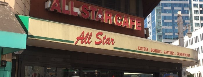 All Star Cafe is one of SF Crawl.