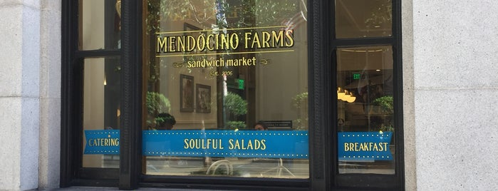 Mendocino Farms is one of San Fran.