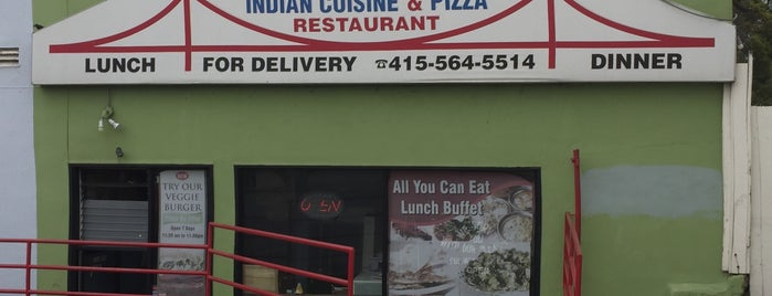 Golden Gate Indian Cuisine and Pizza is one of The Pizza List.