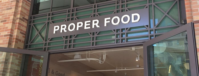 Proper Food is one of San Francisco.