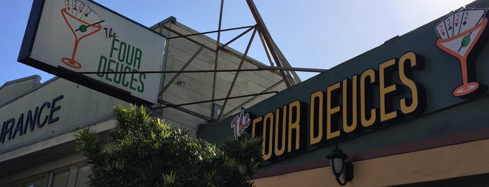 Costello's Four Deuces is one of SF Bars.