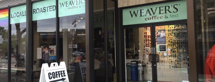 Weaver's Coffee & Tea is one of Lieux qui ont plu à Jon.