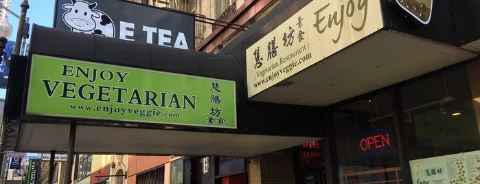 E Tea is one of CALI.