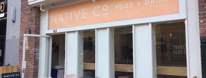 Native Co. is one of SF.