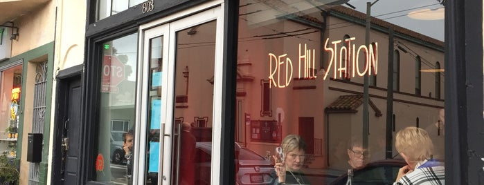 Red Hill Station is one of SF to Try.
