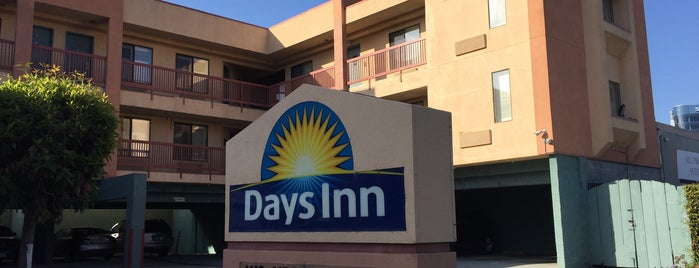 Days Inn San Francisco South/Oyster Point Airport is one of LA & SF.