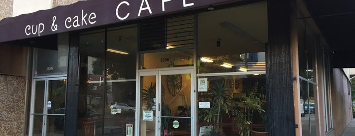Cup & Cake Cafe is one of Venues with free Wi-Fi in San Francisco.