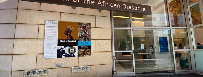 Museum of the African Diaspora is one of USA.