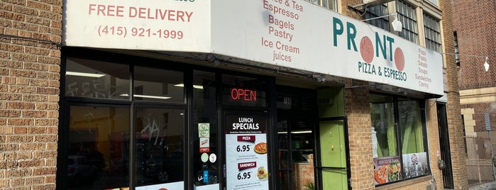 Pronto Pizza & Espresso is one of LevelUp merchants in San Francisco!.