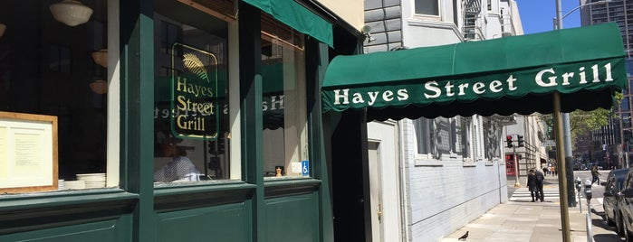 Hayes Street Grill is one of Ben 님이 저장한 장소.