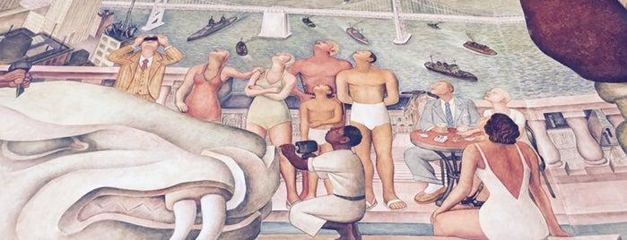 Diego Rivera Theater is one of Orte, die Afi gefallen.