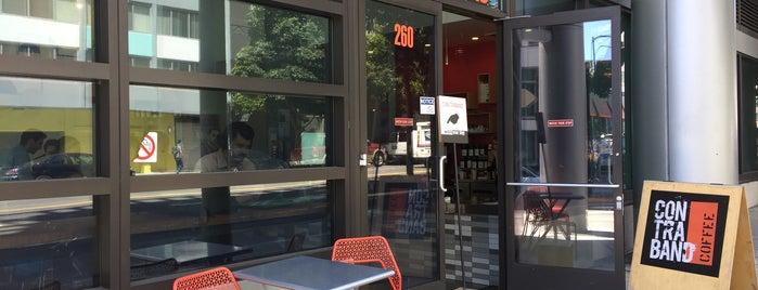 Contraband Coffee Bar is one of Orte, die Marc gefallen.
