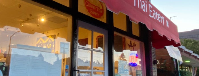 Charm Thai Eatery is one of Bay Area.