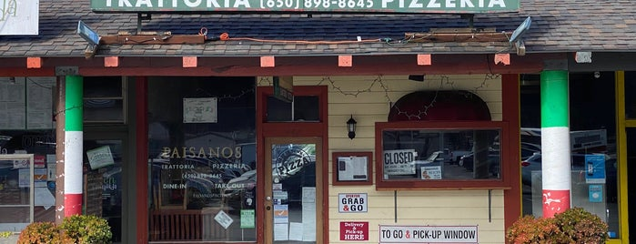 Paisanos Trattoria and Pizzeria is one of Pacifica.