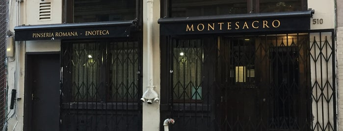 Montesacro is one of SF Restaurants (been to).
