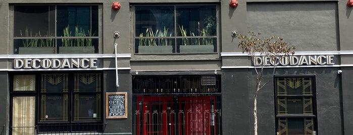 Decodance Bar is one of SF.