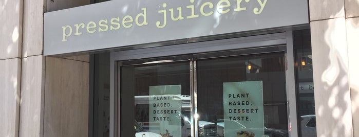 Pressed Juicery is one of SF.