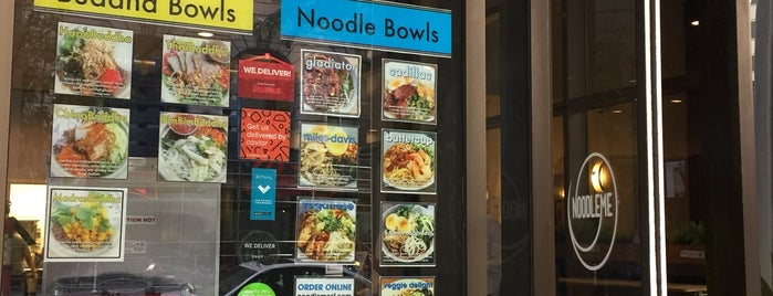Noodle Me is one of TA Lunch Spots.